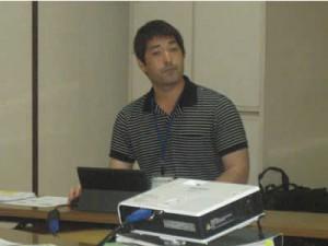 講師の齋藤勇介さん
