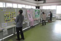 写真:参加した団体に日頃の活動についてパネル展示もしてもらった