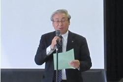 写真:三浦副市長の挨拶